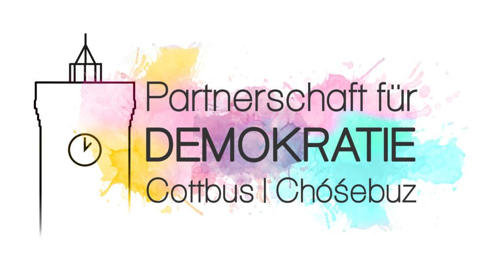 Partnerschaft für Demokratie Cottbus Logo