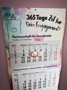 Kalender der Partnerschaft für Demokratie